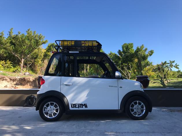Bermuda Car Rental >> Bermi Gets Roof Rack Car Rental Bermuda Localmotionbda