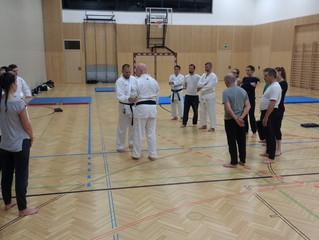 Erstes Krav Maga Training in Brunn