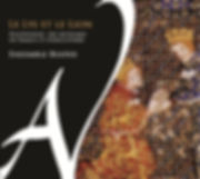Couverture de l'Ensemble Beatus Jean Paul Rigaud, le lys et le lion, polyphonies des royaumes de France et d'Angleterre, musique médiévale polyphonique, ad vitam reocrds, limousin, france