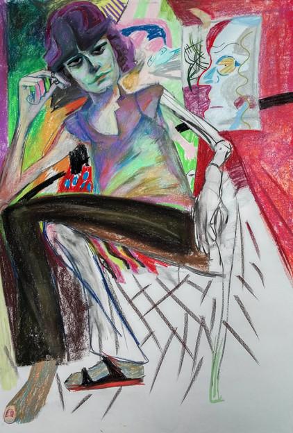pourea alimirzaee contemporary art