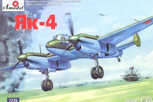 Amodel - Yakovlev Yak-4 1/72