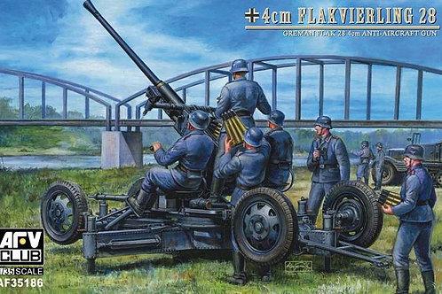AFV Club - German Flak 4cm Flakvierling 28 1/35