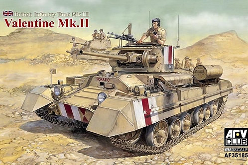 AFV Club - British Infantry Tank Valentine Mk.II