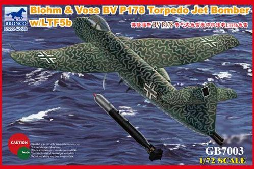 Bronco - Blohm & Voss Bv P 178 Torpedo Jet Bomber
