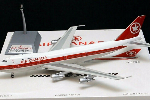 Inflight 200 - Air Canada Boeing 747-100 C-FTOE with stand1/200