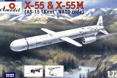 Amodel - X-55 and X-55M (AS-15 Kent) Cruise 1/72