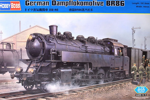 Hobbyboss - German Dampflokomotive Br 86 1/72