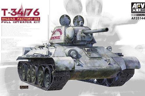 AFV Club - T-34/76 Mod 1942/43 Factory 183 1/35
