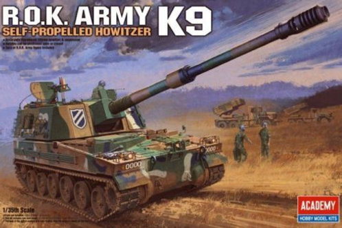 Academy - R.O.K. K9 Self-Propelled Howitzer 1/35