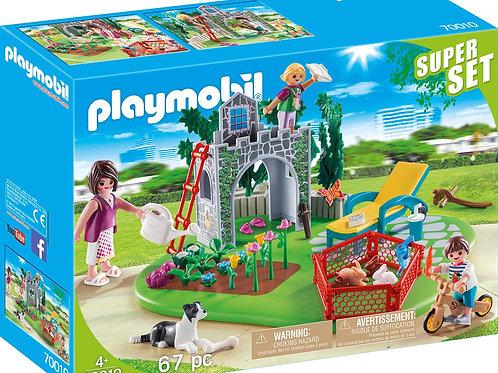 Playmobil 70010 Superset - Family Garden