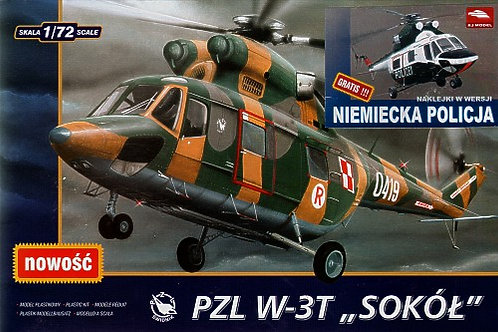 AJ Model - PZL W-3T German Police/Polizei 1/72
