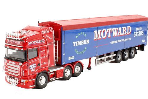 "Corgi - Scania R Moving Floor Trailer ""Motward Timber Recycling Ltd, Huntingdon"""