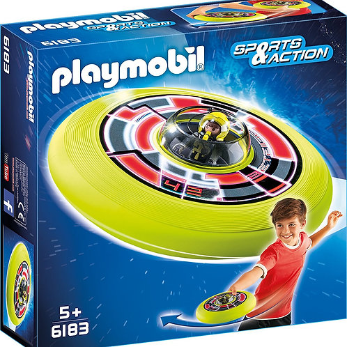 Playmobil 6183 - Cosmic Flying Disk With Astronaut
