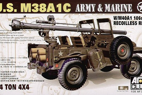 AFV Club - M38A1C with M40A1 106mm Recoilless 1/35