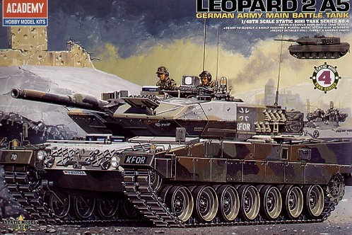 Academy - Leopard 2A5 German Main Battle Tank 1/48