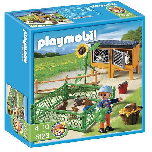 Playmobil 5123 Country - Farm Rabbit Pens