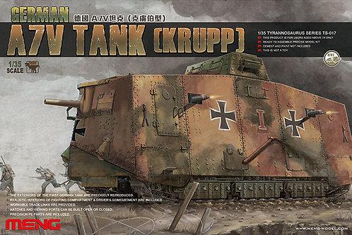 Meng Model - WWI German A7V Tank (Krupp) 1/35