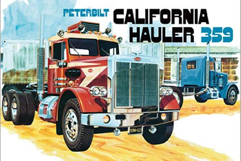 AMT - Peterbilt 359 California Hauler 1/25