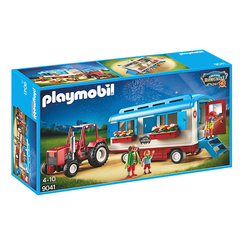 Playmobil 9041 Circus Roncalli - Caravans with Tractor