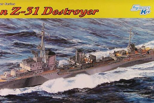 Dragon - German Z-31 Destroyer 1/350