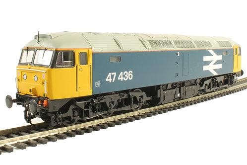 Bachmann - Class 47/4 47436 in BR Large Logo Blue 1/76