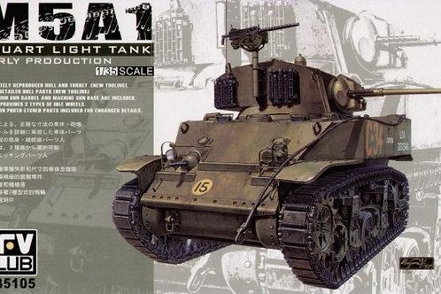 AFV Club - M5A1 Stuart - Early Version 1/35