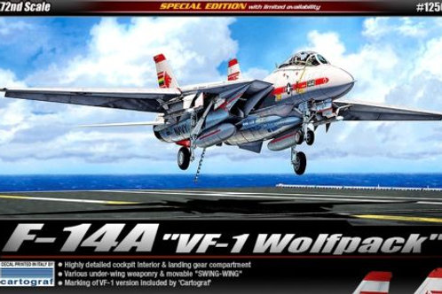 """Academy - F-14A """"VF-1 Wolfpack"""" 1/72"""