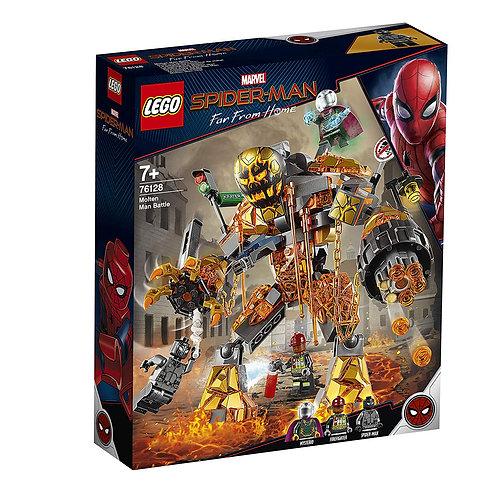 Lego 76128 Marvel Spider-Man - Molten Man Battle