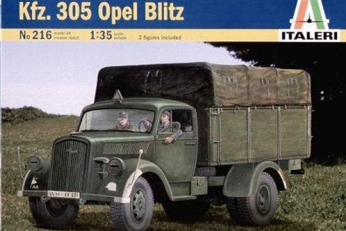 Italeri - German Truck Kfz.305 Opel Blitz 1/35