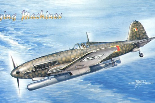 Flying Machines - Fiat G.55-I Serie S Silurante