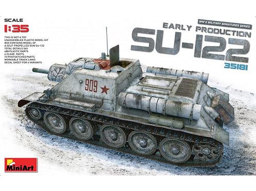 MiniArt - Soviet SU-122 (Early Production) 1/35