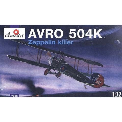 Amodel - Avro 504K Zeppelin Killer 1/72