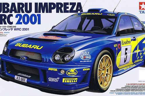 Tamiya - Subaru Impreza WRC 2001 1/24