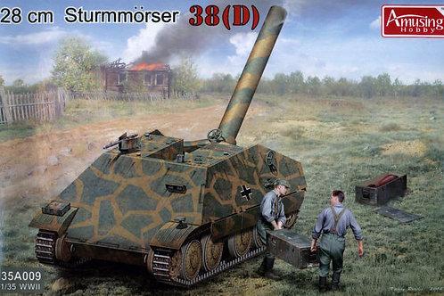 Amusing Hobby - 28cm Sturmmörser 38D 1/35