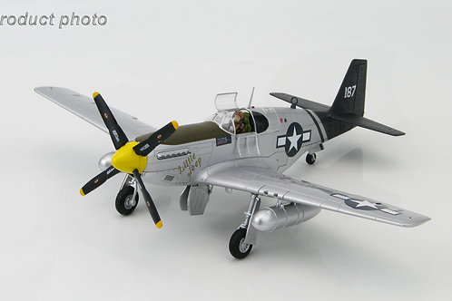 Hobby Master - P-51C Mustang Little Jeep of Capt Forrest H. Parham 75th FS 1/48
