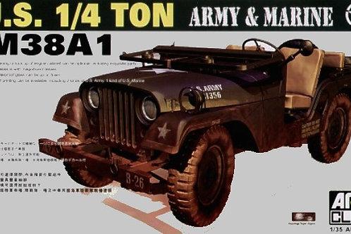 AFV Club - U.S. M38A1 1/4 Ton Army & Marine 1/35