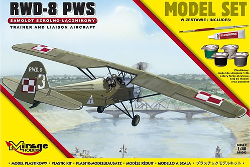 Mirage Hobby - RWD-8 PWS 1/48
