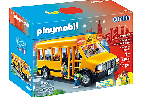 Playmobil 5680 City Life - School Bus