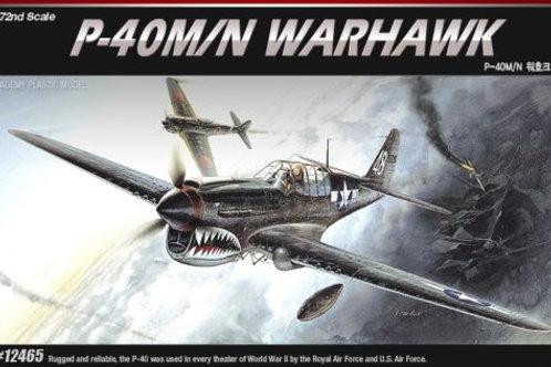 Academy - Curtiss P-40M/N Warhawk 1/72