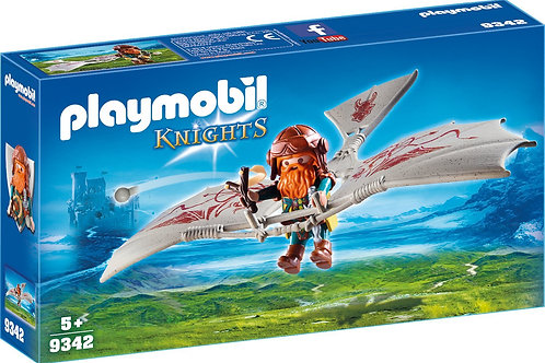 Playmobil 9342 Knights - Dwarf Flying Machine
