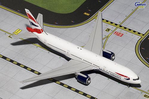 Gemini - British Airways Boeing 777-200ER 1/400
