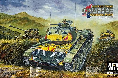 AFV Club - U.S. M24 Tank Chaffee Korean War 1/35