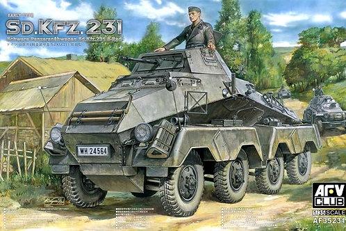 AFV Club - Sd.Kfz.231 Schwere Panzerspähwagen 1/35