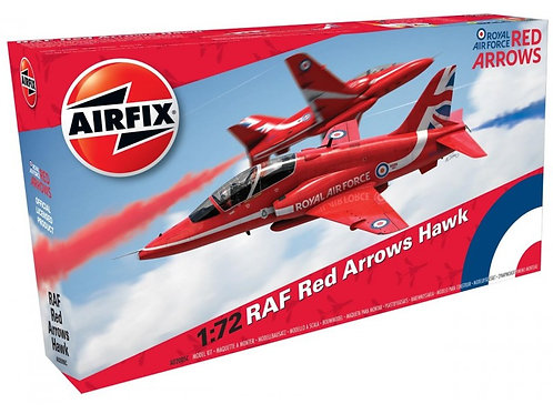 Airfix - BAe Hawk T.1 Red Arrows 2016 Scheme 1/72