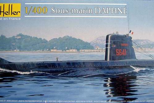 Heller - French Submarine Daphne 1/400