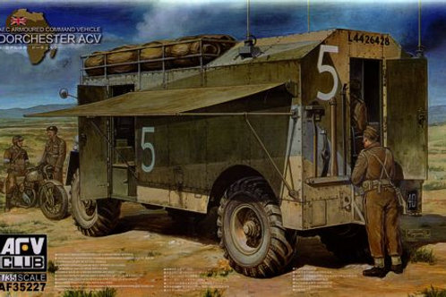 AFV Club - AEC Dorchester 4x4 ACV (Full Interior)
