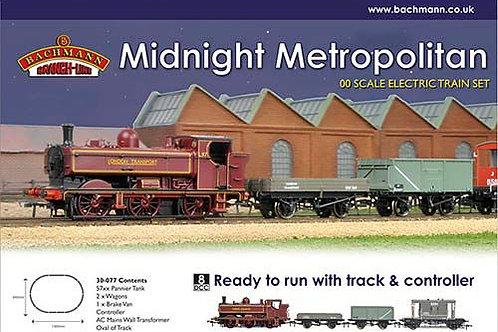 Bachmann - Midnight Metropolitan Train Set 1/76