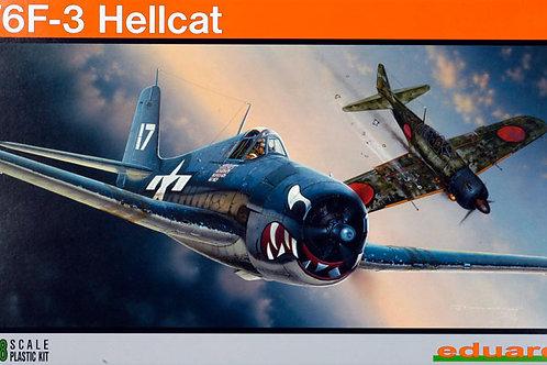 Eduard - Grumman F6F-3 Hellcat 1/48