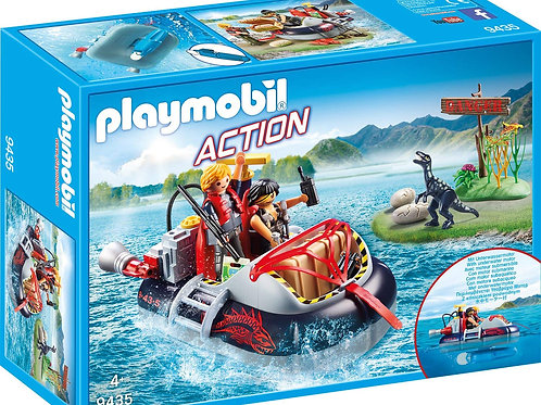 Playmobil 9435 Action Dino - Hovercraft with Underwater Motor