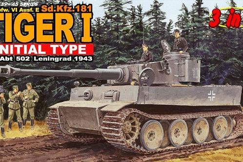 Dragon - Pz.Kpfw.VI Ausf.E Sd.Kfz.181 Tiger 1 1/35